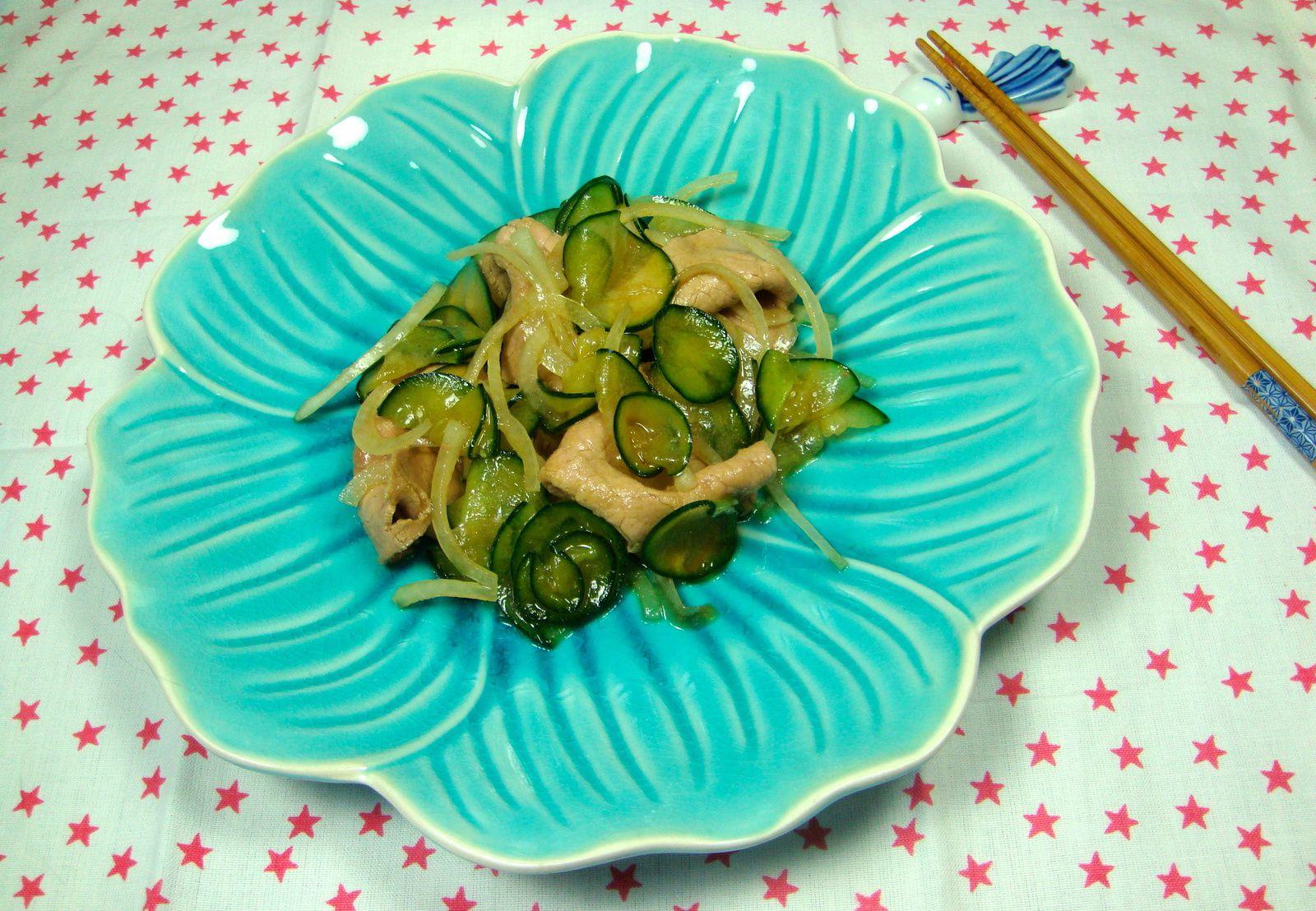 Salade de Carpaccio de Bœuf à la Japonaise