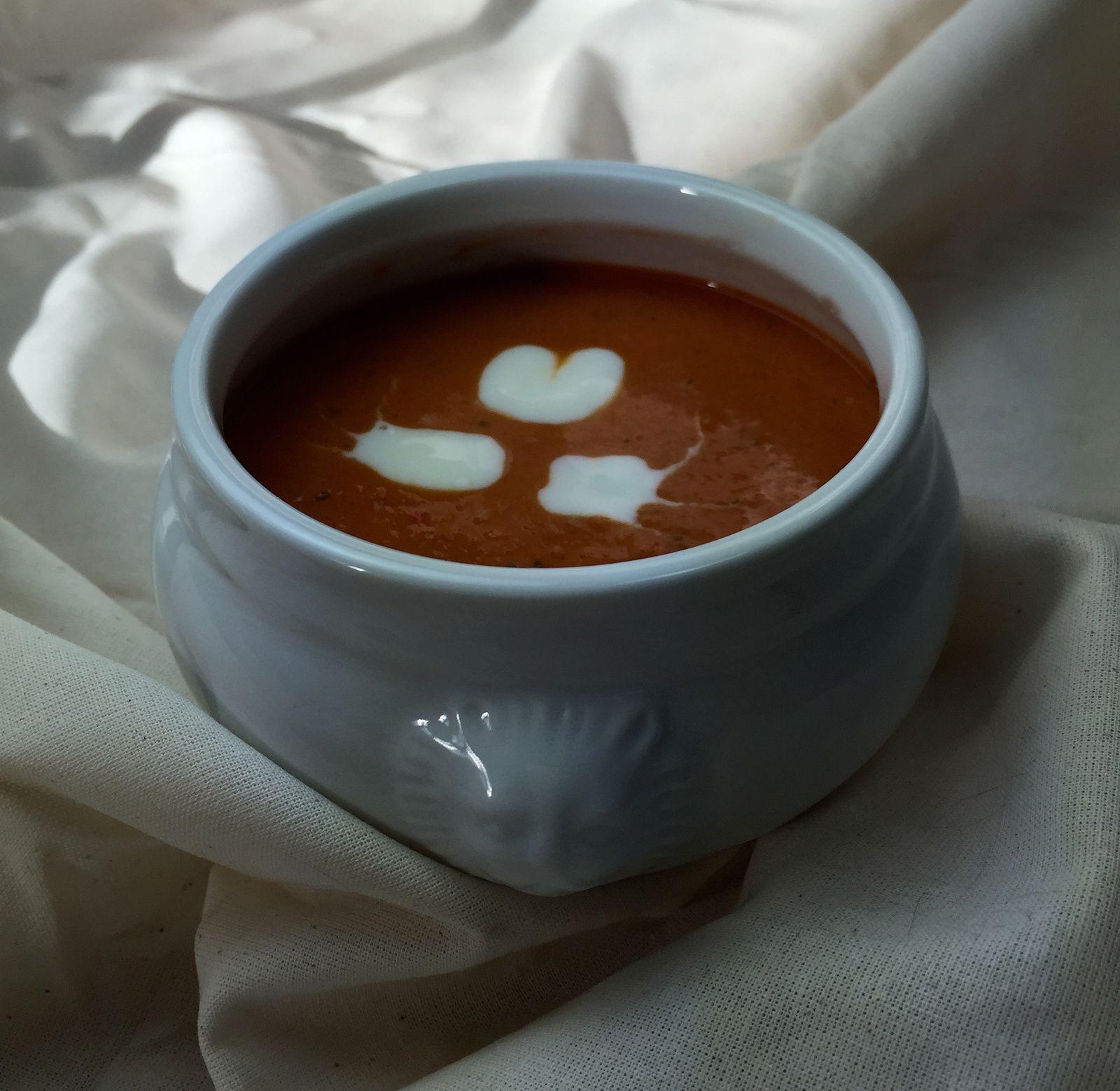 Mais c'est pas de la soupe à la tomate ? Mais non c'est un velouté !