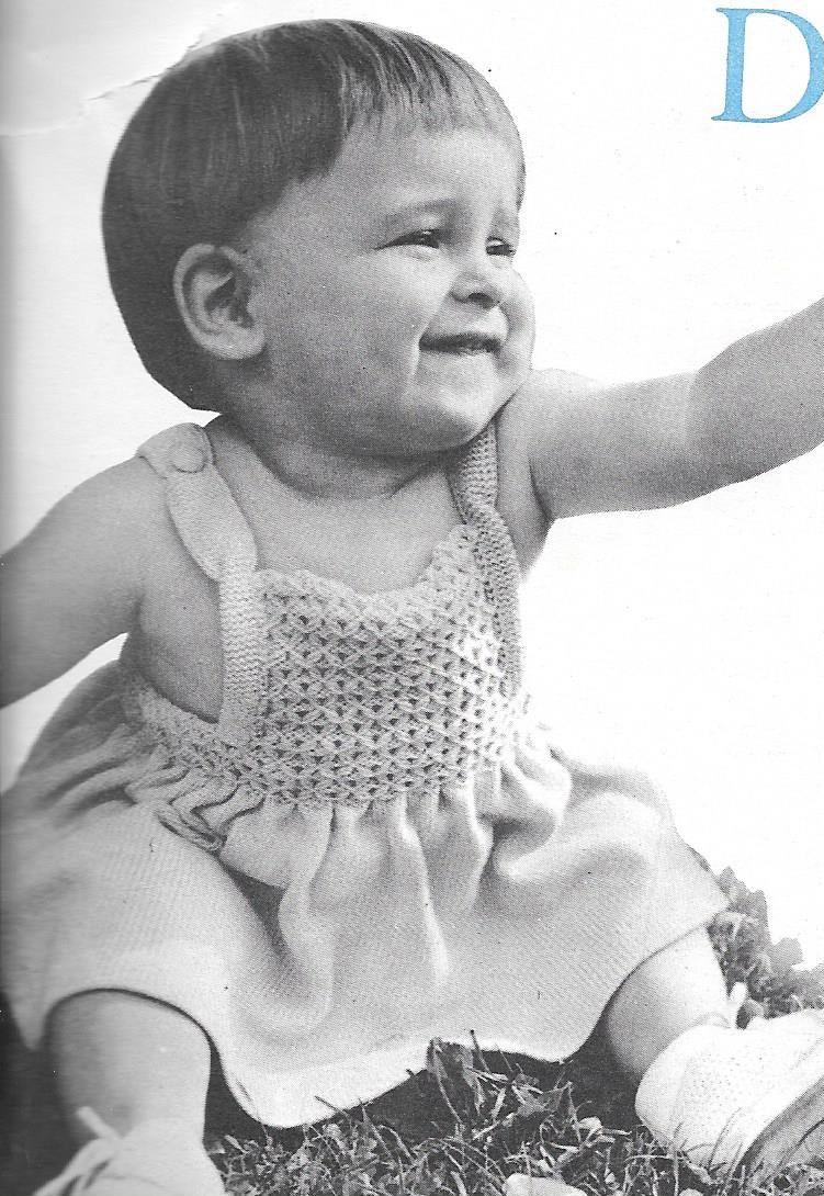 robe bain de soleil tricot bebe 12 a 18
