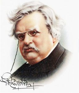 "G.K. Chesterton : ""When..."""