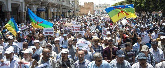 Rif: Une imposante manifestation à Rabat