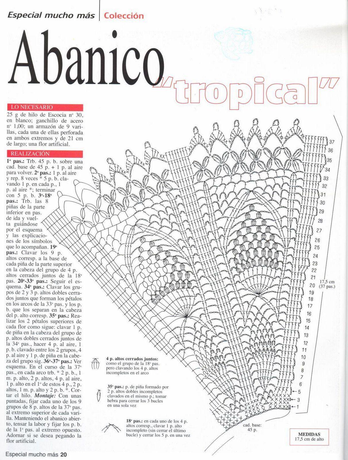 Eventail Au Crochet A Telecharger