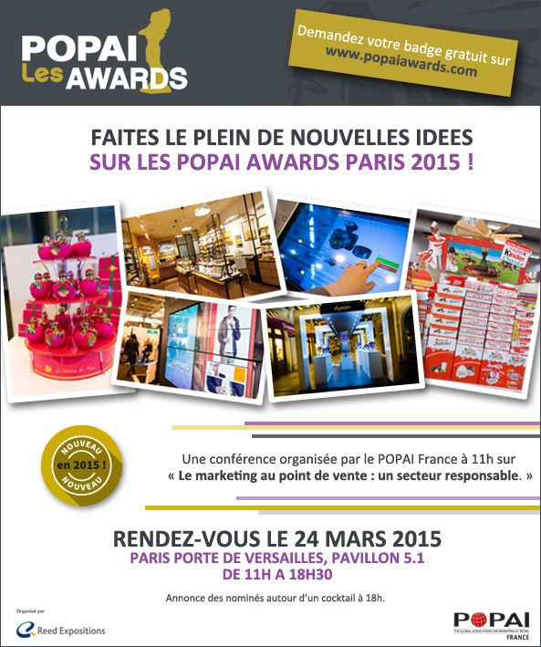 popai awards 2015 faites le plein d idees
