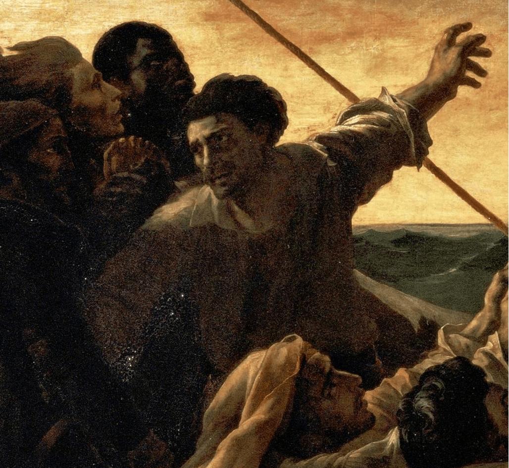 Image result for Radeau de la méduse géricault
