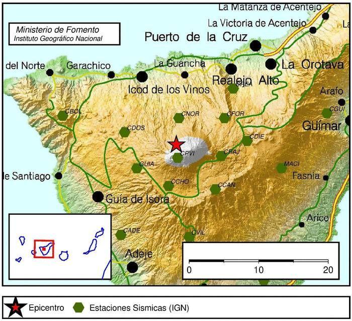 Tenerife - Valle de La Orotava - Doc. IGN.es