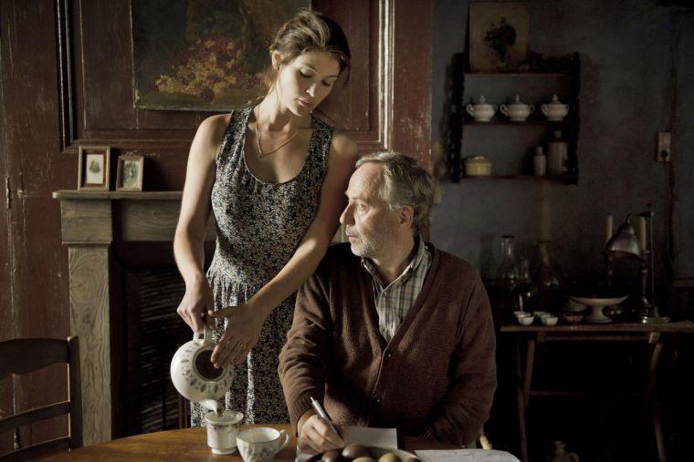 Gemma Arterton et Fabrice Luchini  © Gemma Bovery, 2014