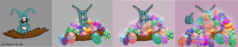 Résultats chasse aux oeufs de Pâques !