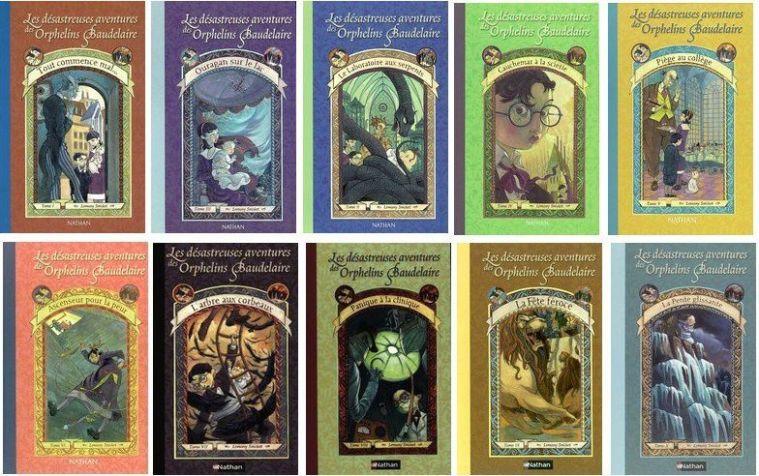 Les Desastreuses aventures des Orphelins Baudelaire - Lemony Snicket