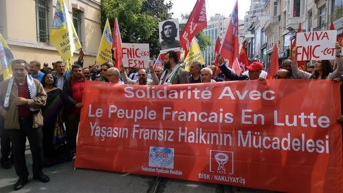 Solidarité internationale avec notre lutte