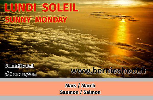 Mars en saumon pour Lundi Soeil