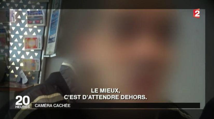 Reportage JT de France 2 : Quand des femmes deviennent indésirables dans des lieux publics.
