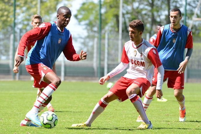 Les futurs joueurs de l'AS Monaco au centre de formation : AS Monaco Academy