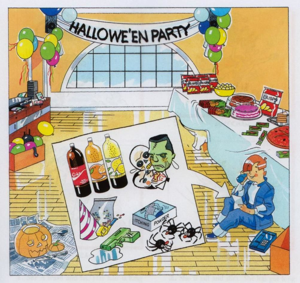 Chapter 1 : A scary party