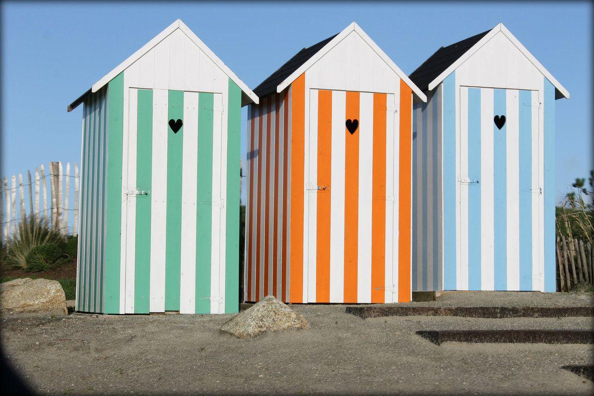 fabriquer une cabine de plage de