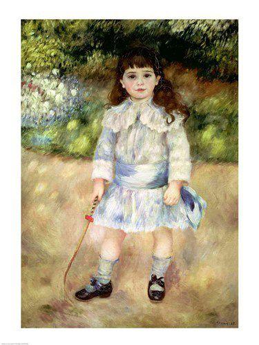L'enfant au fouet - Auguste Renoir... un tableau qui prend tout son sens dans ce chapitre