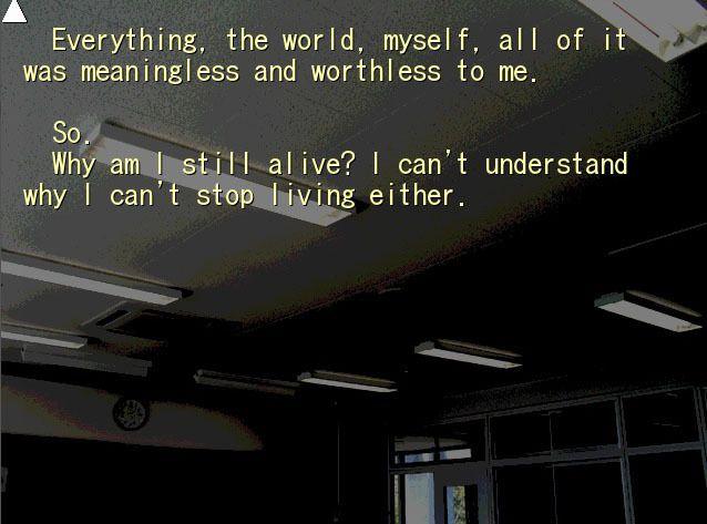 Un chapitre qui donne à réfléchir sur le suicide.