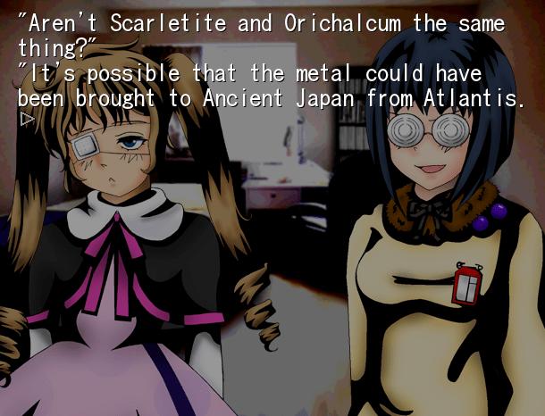 Michiru et son pouvoir d'occultisme avec Tomoko, la dingue de SF