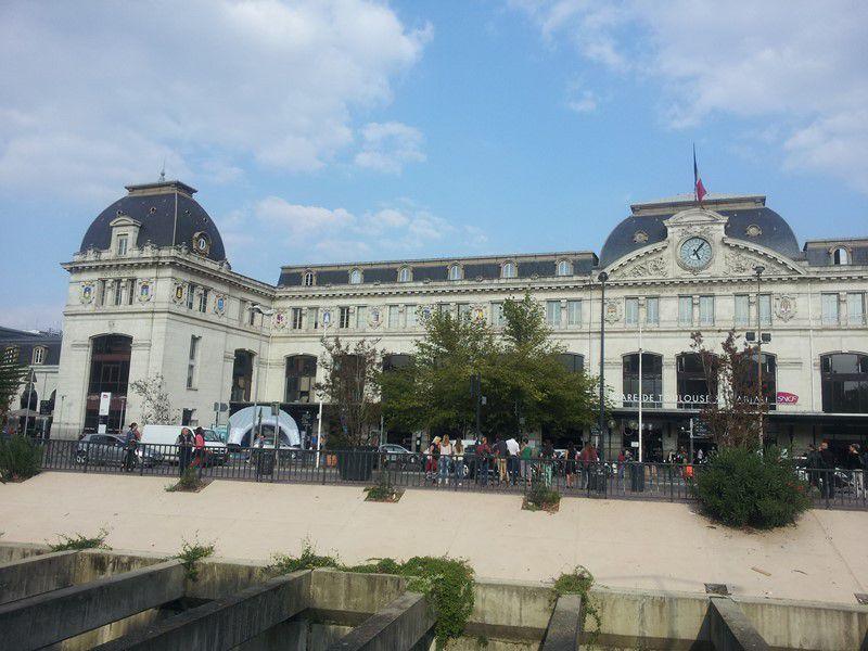 La gare de Toulouse