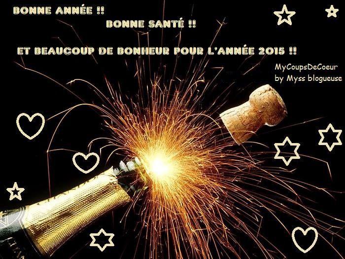 Bonne année 2015 et vos résolutions ?