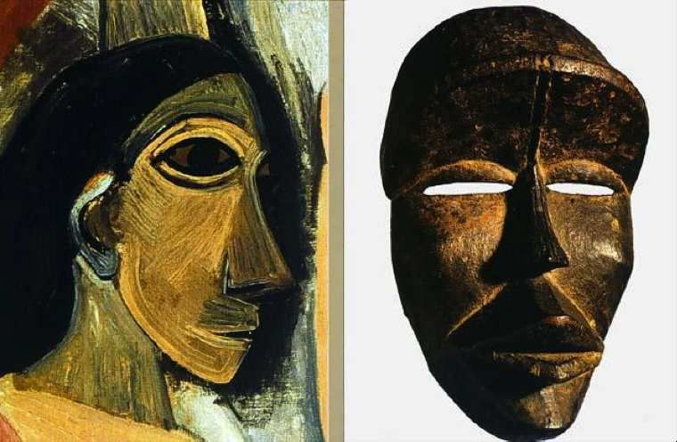 Image result for picasso the mask