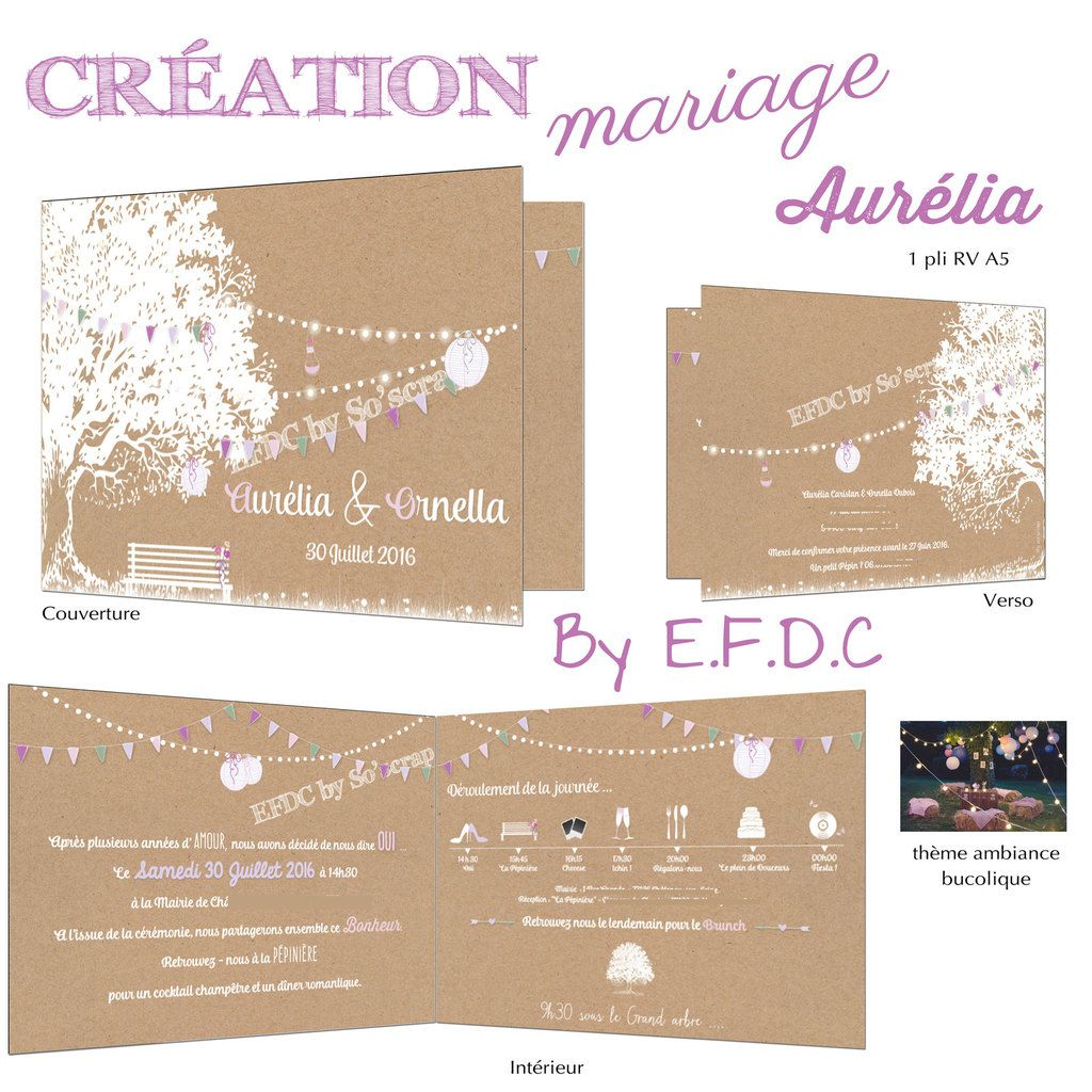 Le Blog DEFDC By Soscrap Le Faire Part De Mariage D
