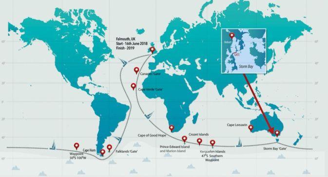 """Résultat de recherche d'images pour """"carte tour du monde GOLDEN GLOBE RACE"""""""