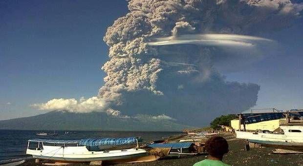 Une gigantesque éruption volcanique en Indonésie pourrait refroidir le climat