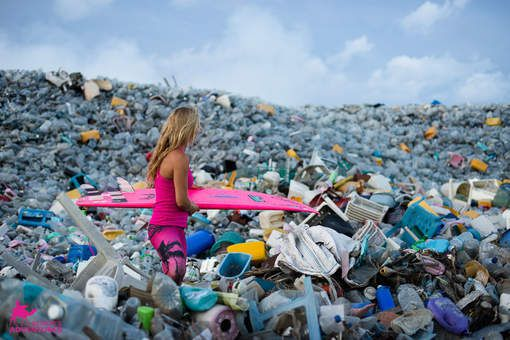 L'île-poubelle des Maldives