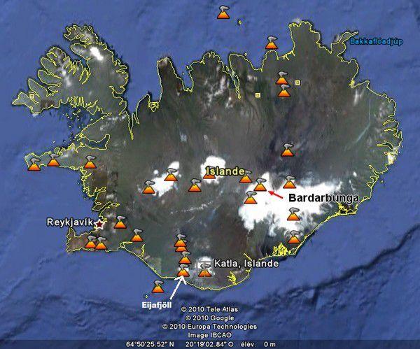 Le réveil du volcan Bárdarbunga : la plus importante éruption d'Islande depuis celle du Laki en 1783
