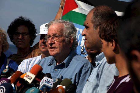"""""""Les souffrances de Gaza, les crimes d'Israël et notre responsabilité"""" par Noam CHOMSKY"""
