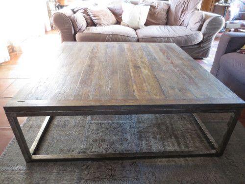 Table Basse Mtal Et Bois