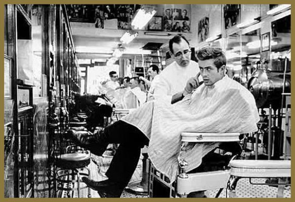 James Dean chez le Barbier
