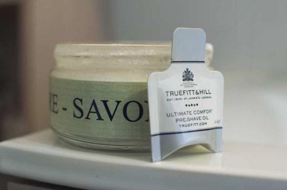 Test - Huile de pré-rasage Truefitt and Hill
