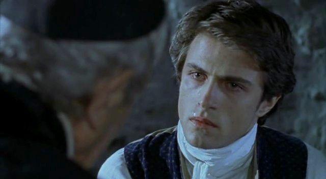 Kim Rossi Stuart dans le rôle de Julien Sorel dans le téléfilm de Jean-Daniel Verhaeghe (1997)