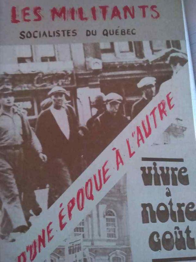 La ligue des Jeunesses Communistes du Québec des années 30 à la Seconde Guerre mondiale