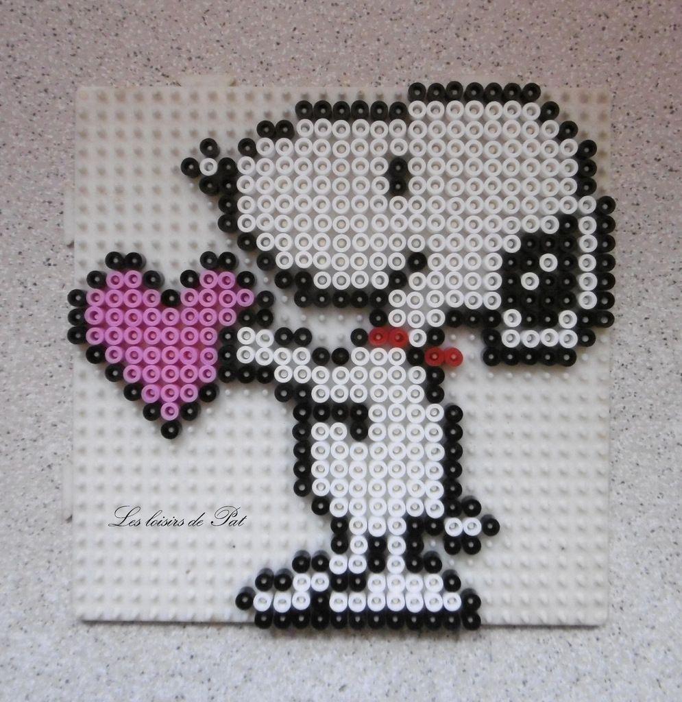 Perles Repasser Snoopy Les Loisirs De Pat