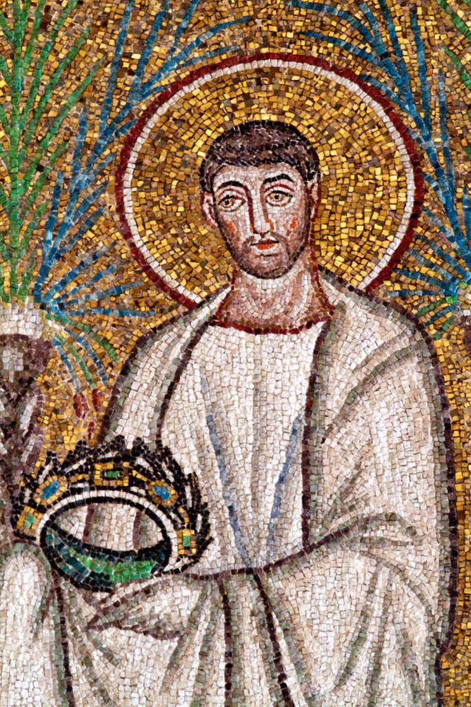 Saint Cyprien de Carthage, évêque et martyr d'Afrique pour la foi catholique.