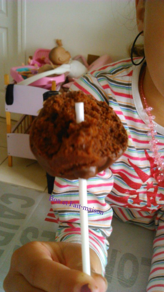 Cakepops au chocolat