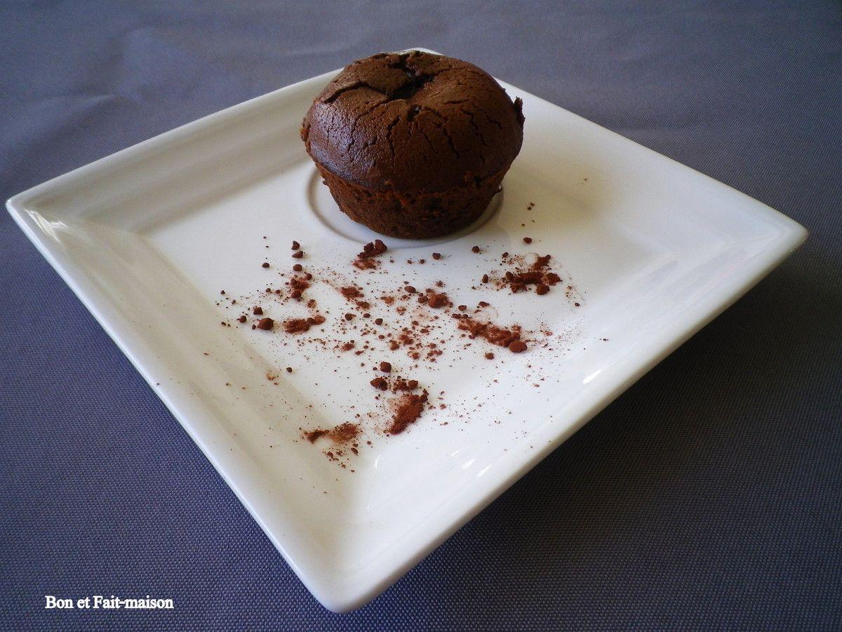 Moelleux au chocolat, ou comment assouvir une envie de chocolat en 15 minutes chrono