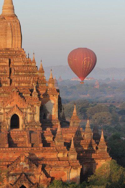La magie de Bagan