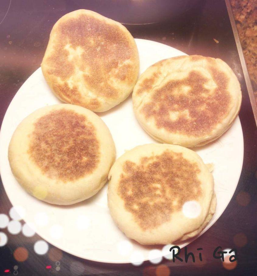 Des muffins anglais au petit déjeuner