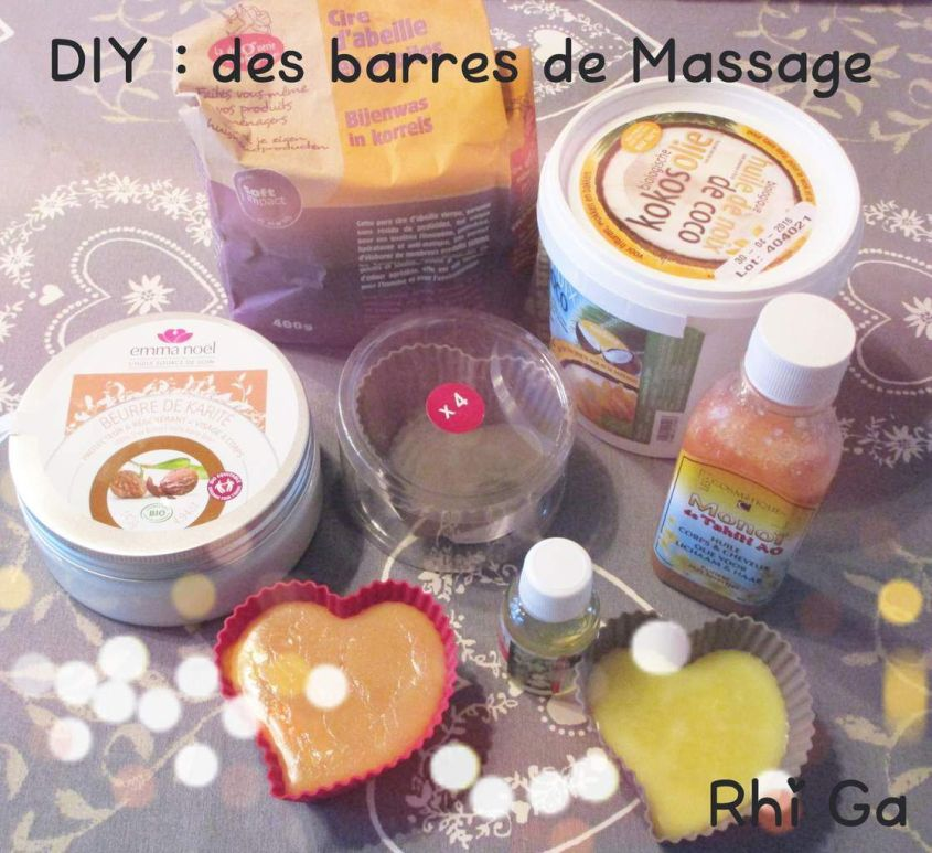 DIY : Des barres de massage