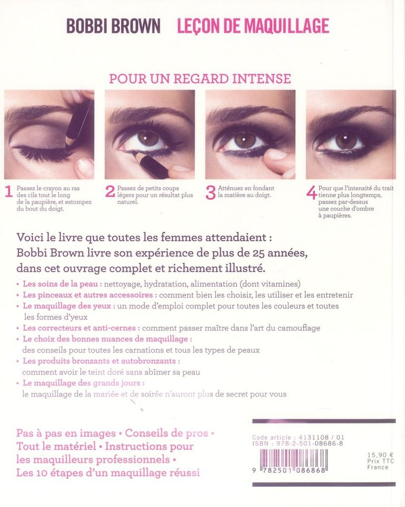 Les leçons Make-Up de Bobbi Brown