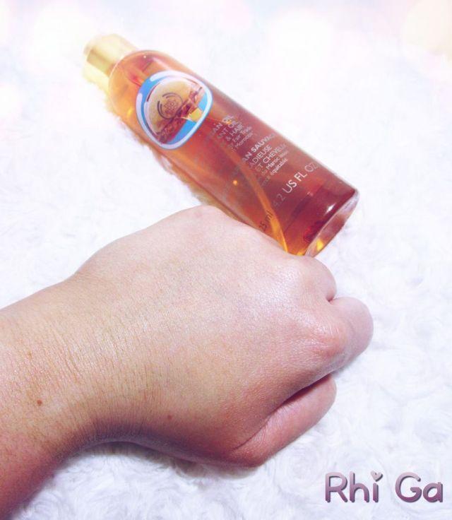 The Body Shop et son huile d'argan