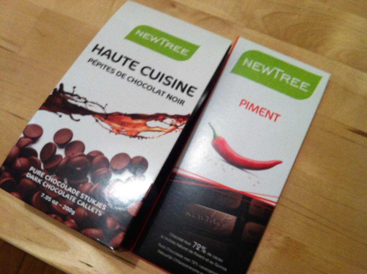 Redécouvrez le chocolat avec Newtree et une petite recette de cookies gourmands et caliente