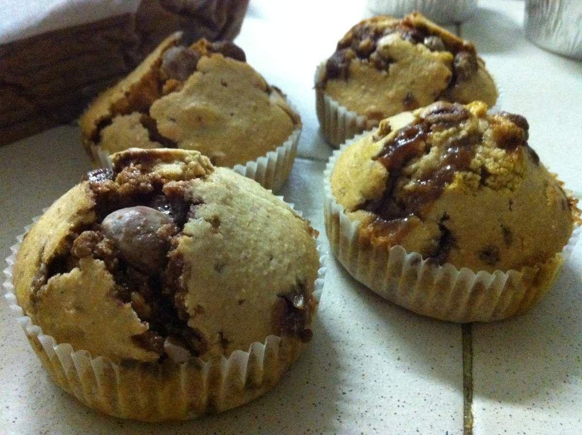 Muffins M&Ms pour voir la vie en couleurs