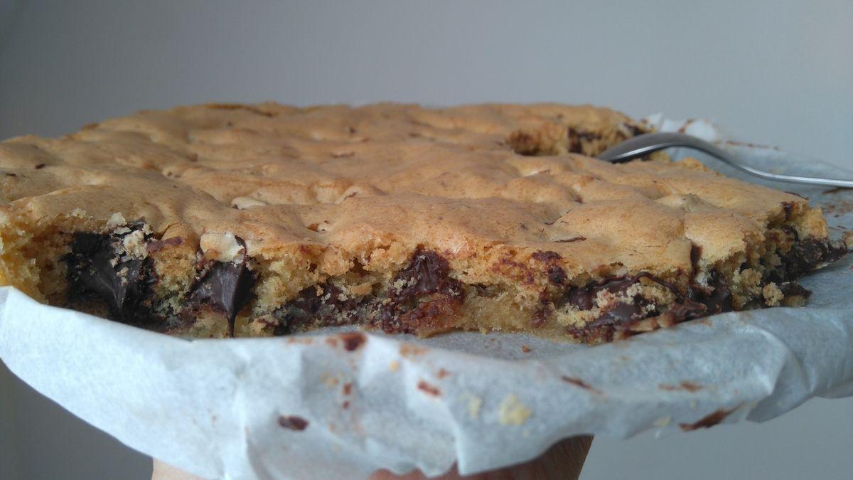 Le one pan cookie : un cookie géant à la poêle et au four