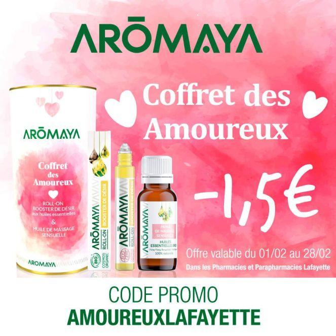 """AROMAYA """"Coffret des Amoureux"""" - Concours Saint Valentin 2019"""