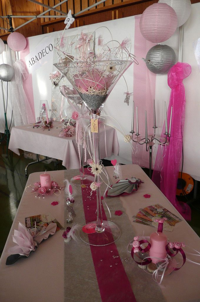 Deco Table Rose Et Gris Elegant With Deco Table Rose Et