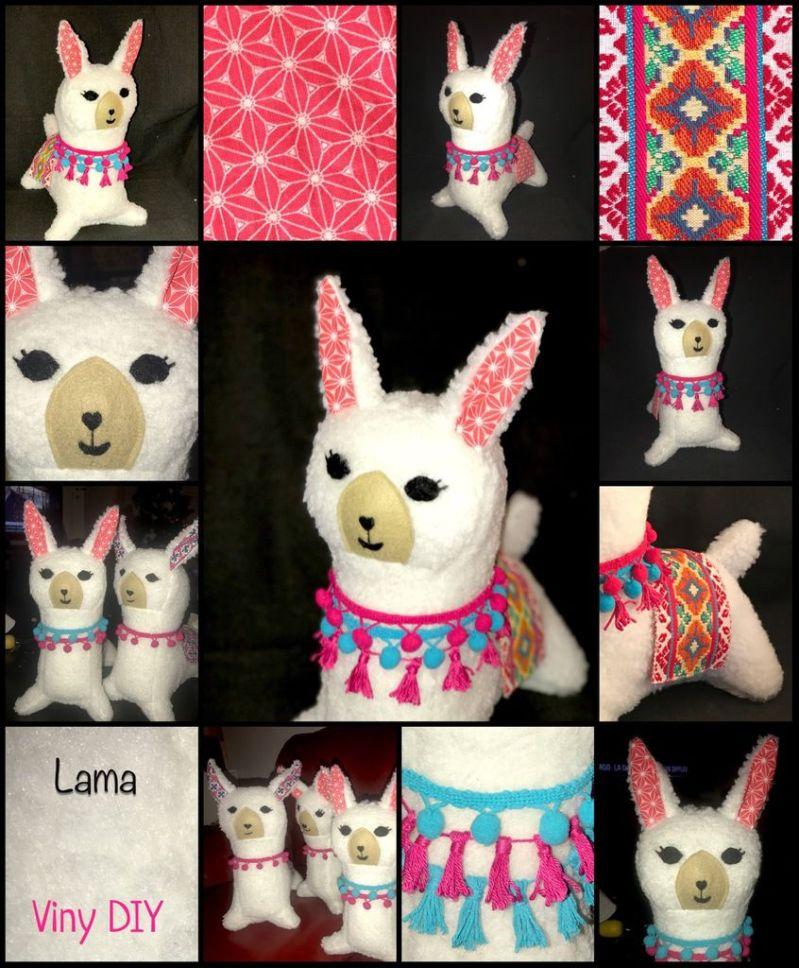 Doudou Lama - Tuto Couture DIY
